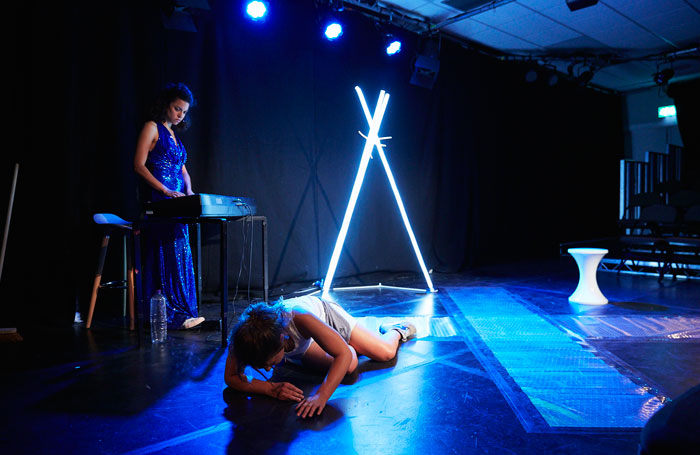 Jessica Butcher and Anoushka Lucas in Sparks, Pleasance Courtyard, Edinburgh. Photo: The Other Richard