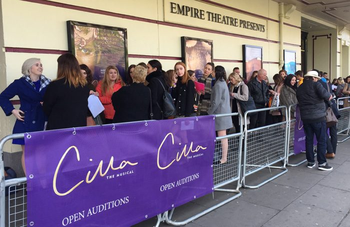 Cilla the Musical auditioned thousands of hopefuls to find its star, Kara Lily Hayworth. Photo: Liverpool Empire