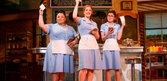 The original Broadway production of Waitress. Photo: Joan Marcus