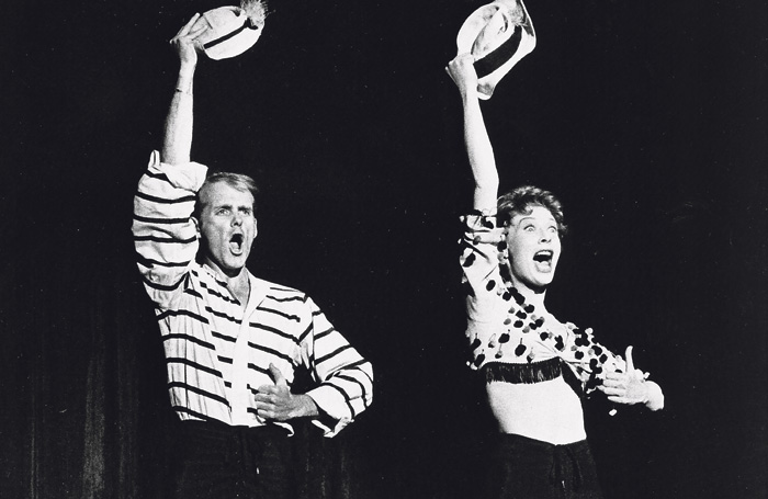 Fosse and Gwen Verdon in Damn Yankees. Photo: Warner Bros