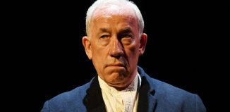 Simon Callow in De Profundis. Photo: William Burdett-Coutts