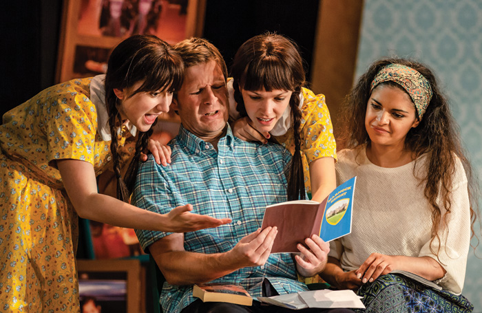 Lydia Orange, Phil Yarrow, Ruby Ablett and Davina Moon in Double Act. Photo: The Other Richard