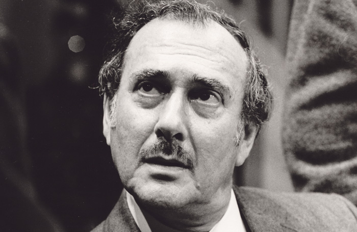 Pinter himself in The Hothouse at the Minerva Theatre, Chichester, in 1995. Photo: Tristram Kenton