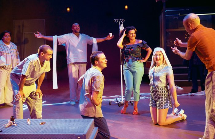 Sheffield Theatres' One Flew Over the Cuckoo's Nest: the production engaged diverse local communities alongside career development workshops for artists and technicians of colour. Photo: Mark Douet