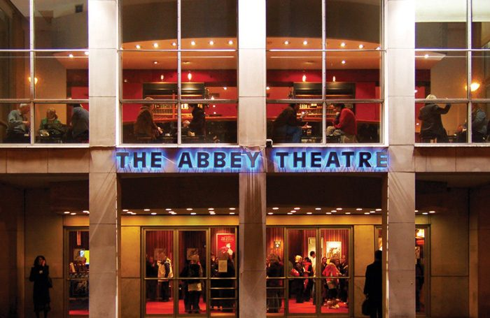 The Abbey Theatre in Dublin, which has a free first preview for every show. Photo: Bjaglin/Wiki Comms