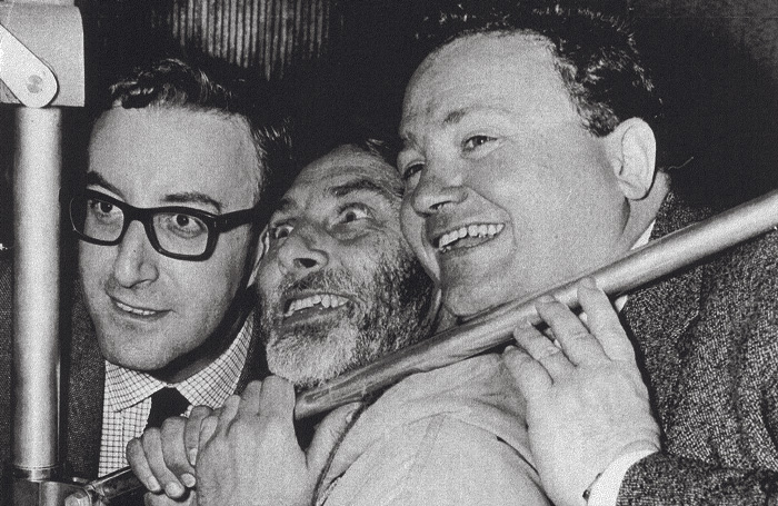 The Goons Peter Sellers, Spike Milligan and Harry Secombe