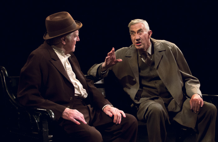 Eamon Morrissey and Barry McGivern in Beckett's The Old Tune