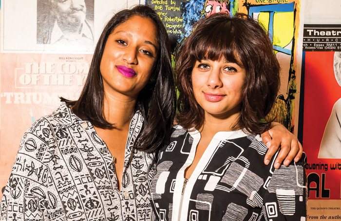 Author Atiha Sen Gupta and cast member Safiyya Ingar. Photo: Gary Summers