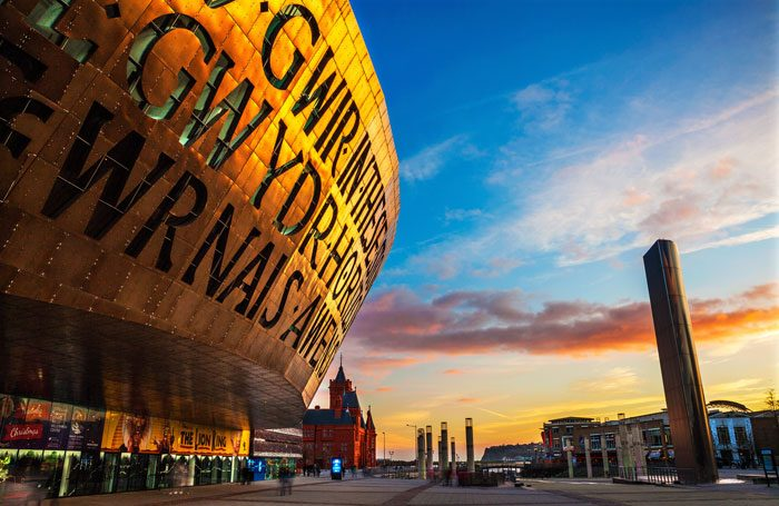 Cardiff's Wales Millennium Centre. Photo: Billy Stock/Shutterstock