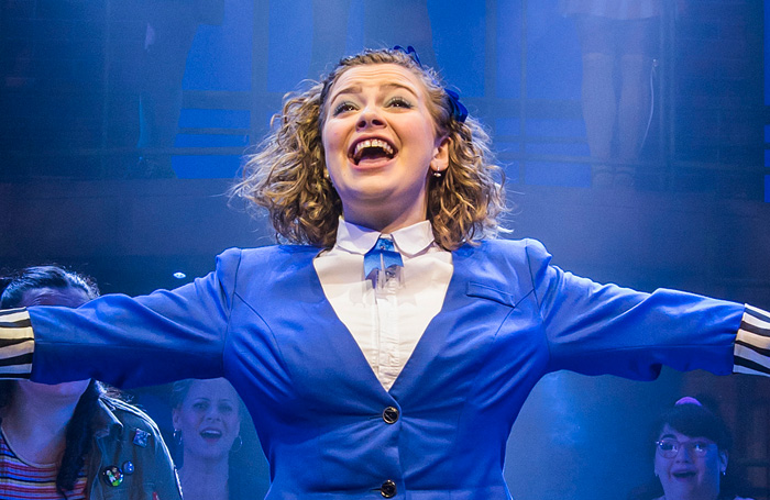 Carrie Hope Fletcher in Heathers The Musical. Photo: Tristram Kenton