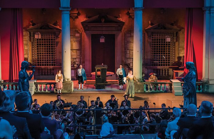 Mozart's Don Giovanni. Photo: Guy Bell