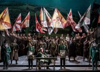 Cast of War and Peace. Photo: Clive Barda