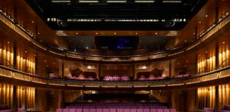 The Royal Opera House's redesigned Linbury Theatre. Photo: Hufton and Crow