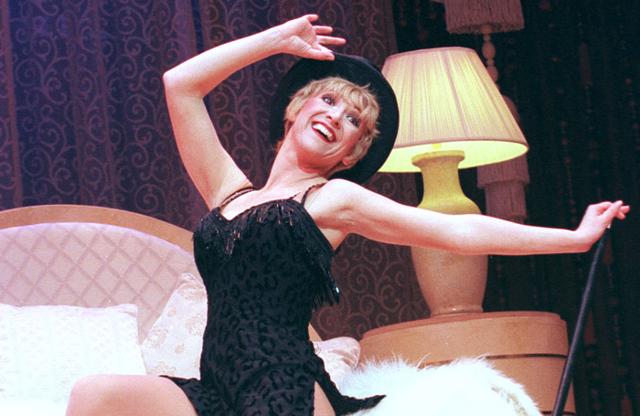 Bonnie Langford in Sweet Charity in 1998. Photo: Tristram Kenton