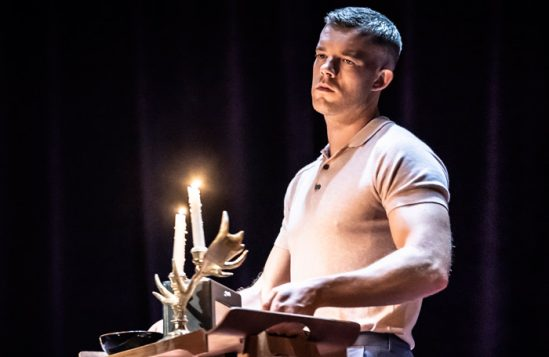Russell Tovey in Pinter Two. Photo: Marc Brenner