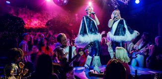 Mamma Mia! The Party – pictured in Stockholm – will come to London next year, adapted by Sandi Toksvig. Photo: Dewynters