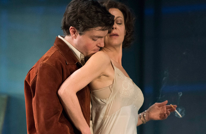 Burke with Helen McCrory in The Deep Blue Sea. Photo: Tristram Kenton