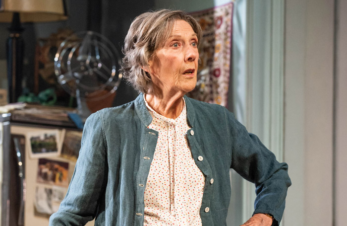 Eileen Atkins in The Height of the Storm. Photo: Hugo Glendinning