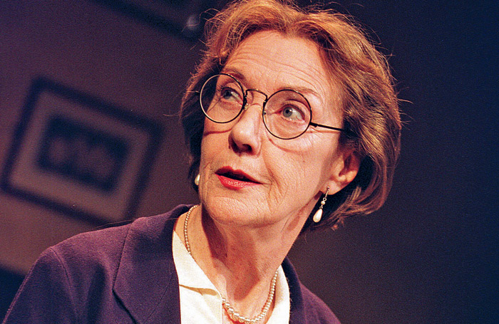 Eileen Atkins in A Room of One's Own, Hampstead Theatre, London, 2001. Photo: Tristram Kenton