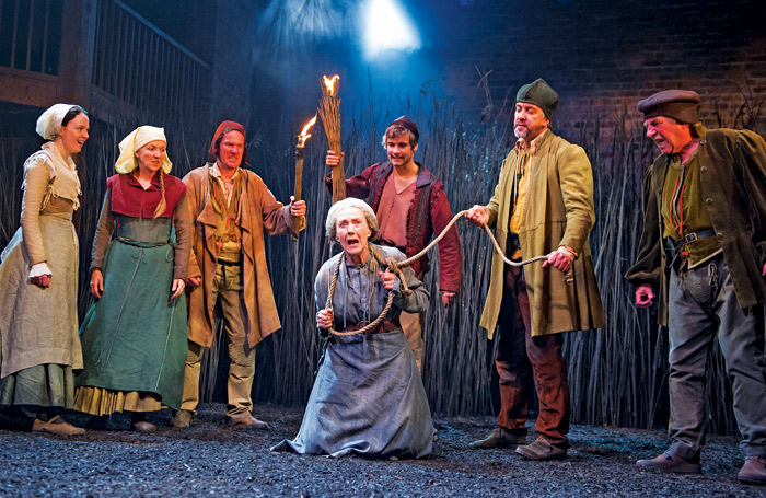 The Witch of Edmonton at Swan Theatre, Stratford-upon-Avon in 2014. Photo: Tristram Kenton