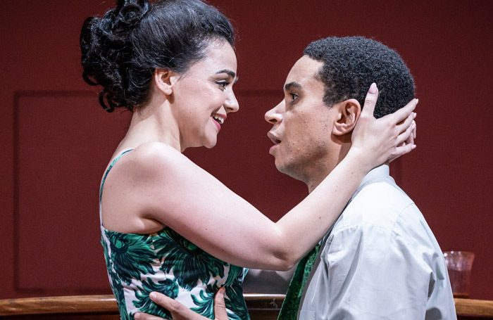 Hayley Squires and John Macmillan in Pinter Two. Photo: Marc Brenner