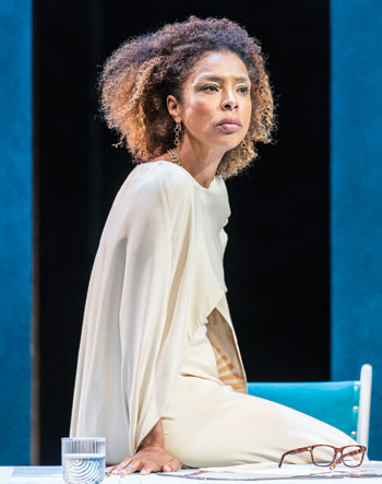 Sophie Okonedo in Antony and Cleopatra. Photo: Johan Persson