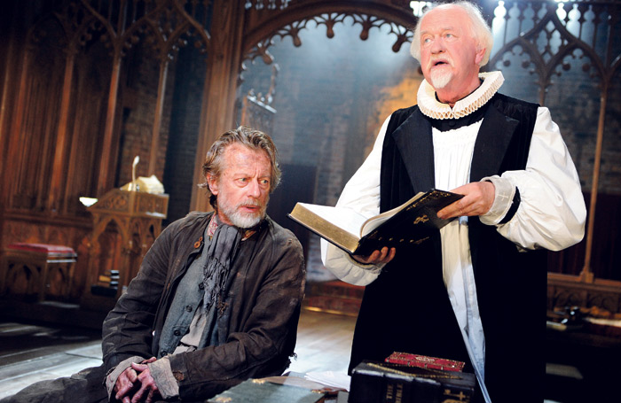 Stephen Boxer and Oliver Ford Davies in Written on the Heart (2011). Photo: Tristram Kenton