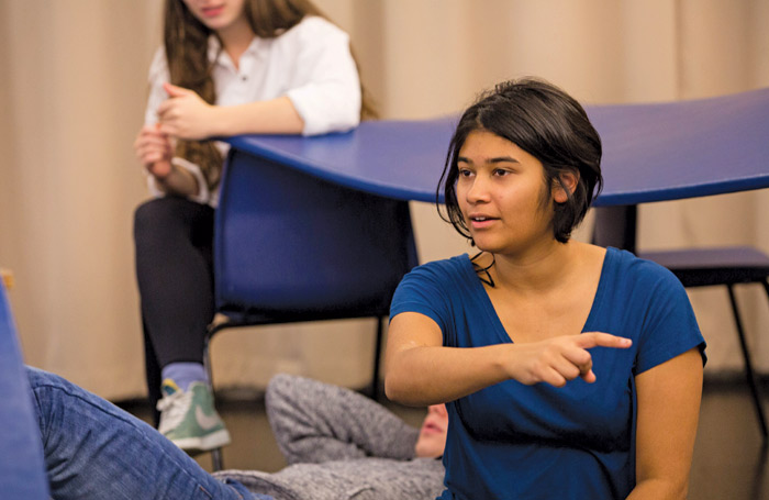 Students on a RADA short course
