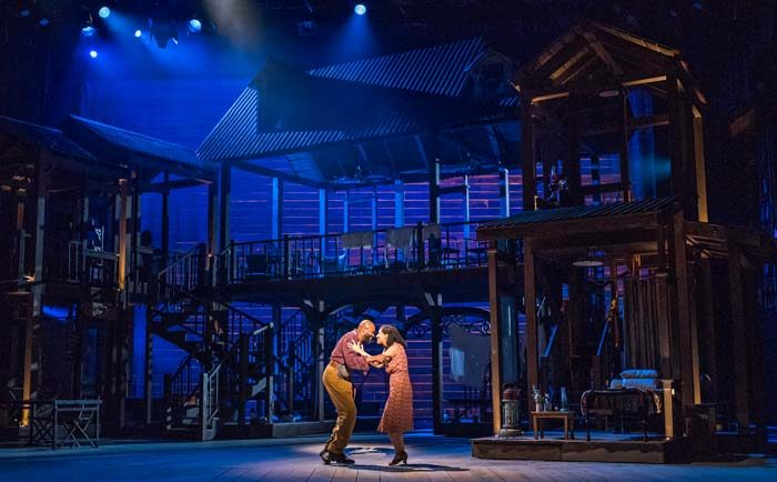 Porgy and Bess by English National Opera performed at the London Coliseum in October, 2018