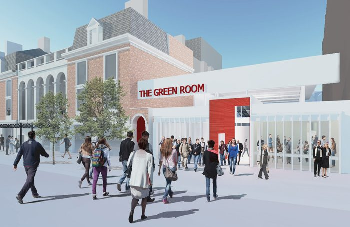 Artists impression of new space at Wolverhampton Grand