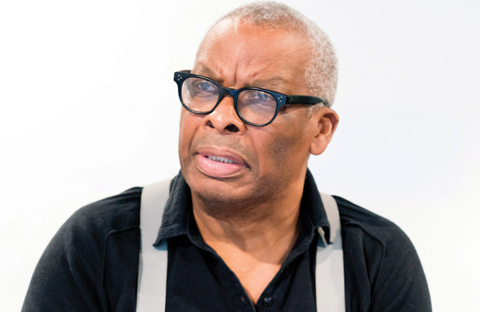 Don Warrington in rehearsals for Death of a Salesman. Photo: Johan Persson