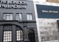 The London Palladium wall of fame. Photo: Craig Sugden