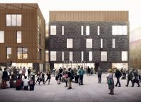 Mountview's new £28 million site (top) has been supported with a loan from the local council.
