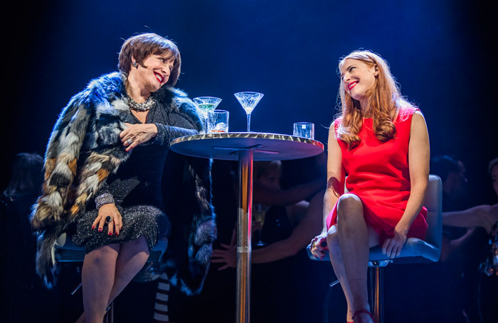 Patti LuPone and Rosalie Craig in Company. Photo: Tristram Kenton
