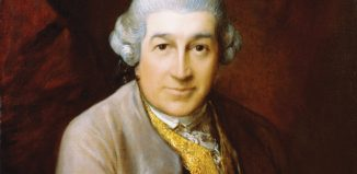 David Garrick painted by Gainsborough