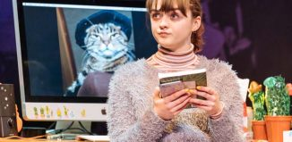 Maisie Williams in I and You at Hampstead Theatre. Photo: Manuel Harlan