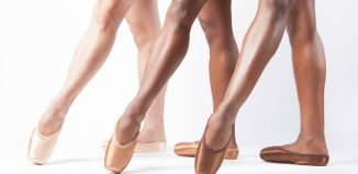 Pointe shoes. Freed