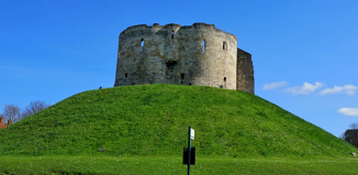 Clifford's Tower in York, located next to Castle Car Park. Photo: Shutterstock