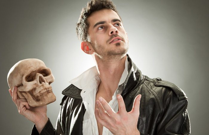 The stereotypical actor pose. Photo: Shutterstock