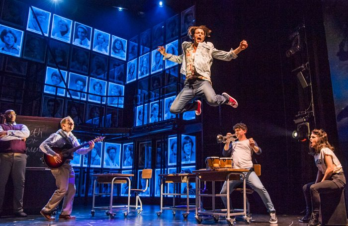 If only drama school were always like this… A scene from Fame, touring until October 19, 2019. Photo: Tristram Kenton