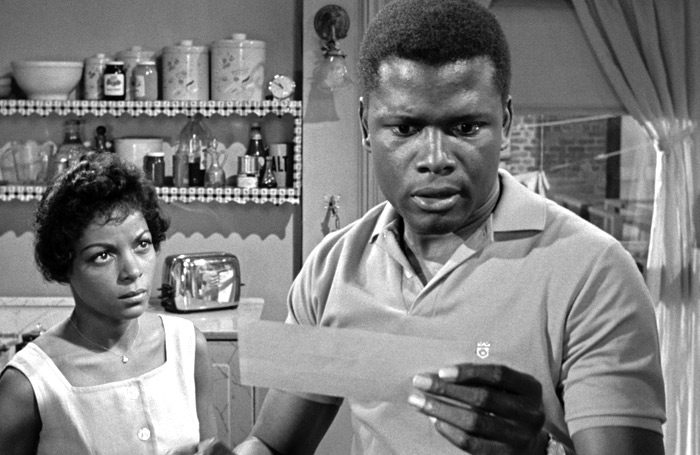 Image result for a raisin in the sun sidney poitier