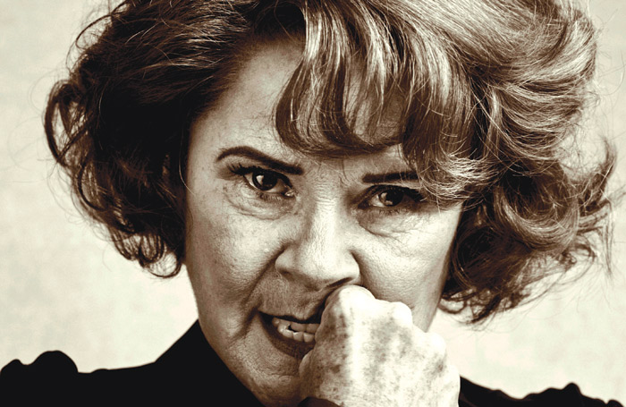 Imelda Staunton called for a ban on eating in the theatre while appearing in Who's Afraid of Virginia Woolf? last year