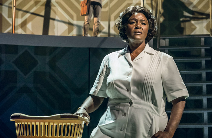 Sharon D Clarke in Chichester Festival Theatre's production of Caroline, Or Change, which ATG is bringing to the Playhouse Theatre in the West End. Photo: Marc Brenner