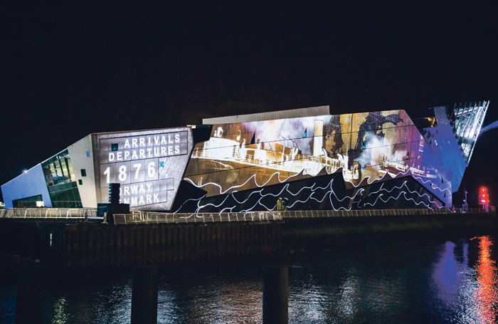 Arrivals and Departures, for Hull City of Culture 2017. Photo: James Mulkeen