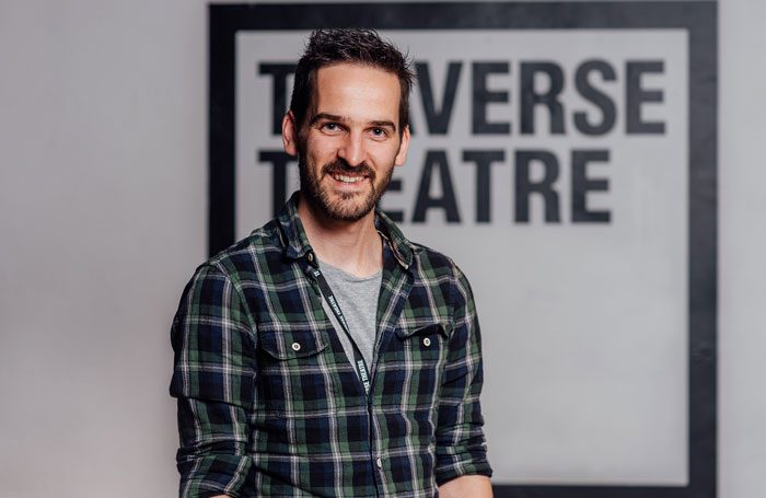 Gareth Nicholls, who has been appointed interim artistic director of Edinburgh's Traverse Theatre. Photo: David Monteith-Hodge