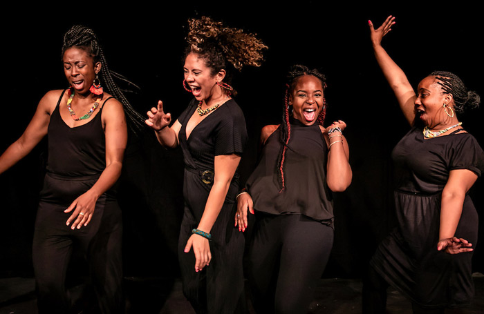 Nouveau Riché's Queens of Sheba (below) was a winner of New Diorama and Underbelly's Untapped Award at the Edinburgh Festival Fringe last August. Photo: Th