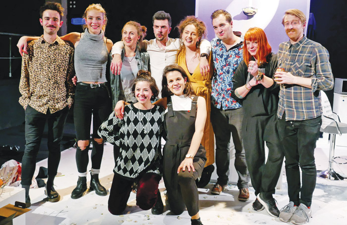 Back row: Reece Connolly, Isabel Della-Porta, Ella Road, Will Adolphy, Jasmine Swan, Matt Cater, Xanthe Goode and Ben Winter. Front: Zoe Weldon and Georgie Staight. Photo: Flavia Fraser-Cannon