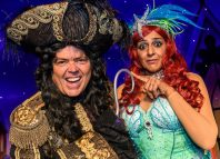 Jimmy Osmond and Meera Syal star in Birmingham Hippodrome's Peter Pan. Photo: Simon Hadley