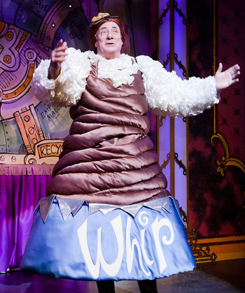 Kaler in his Walnut Whip costume. Photo: Karl Andre