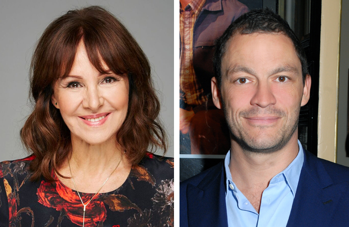 Arlene Phillips and Dominic West. Photo: Paul Clapp